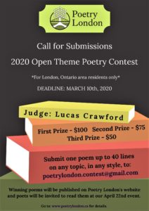 Poetry London Poetry Contest 2020